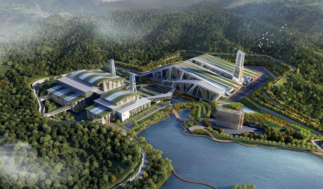 Bao An Waste-to-Energy Plant, Shenzhen, China (2019)