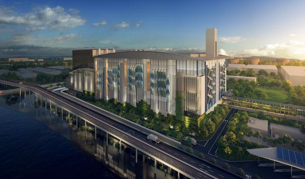 Singapore Integrated Waste Management Facility (U/C)